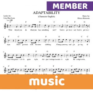 Character English member music thumbnail